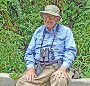 George Kinter taken on the Satipo Road on birding trip in central Peru 2007