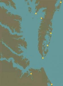 Falcon coastal hack sites