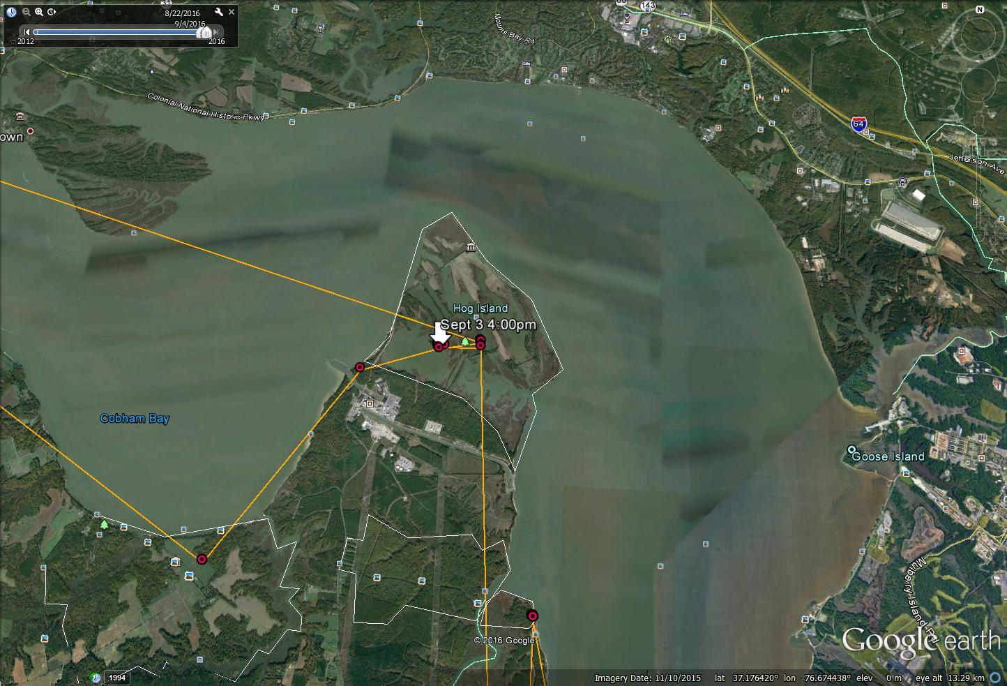 Grace Flies to Hog Island on James River 9/3/2016 - The ... on map of newport nc, map of marshall nc, map of greensboro nc, map of belmont nc, map of fairfax nc, map of inverness nc, map of eden nc, map of halifax nc, map of waterford nc, map of jacksonville nc, map of concord nc, map of lincoln nc, map of oakland nc, map of mount pleasant nc, map of florence nc, map of mount holly nc, map of jamestown nc, map of morrisville nc, map of salisbury nc, map of franklin nc,