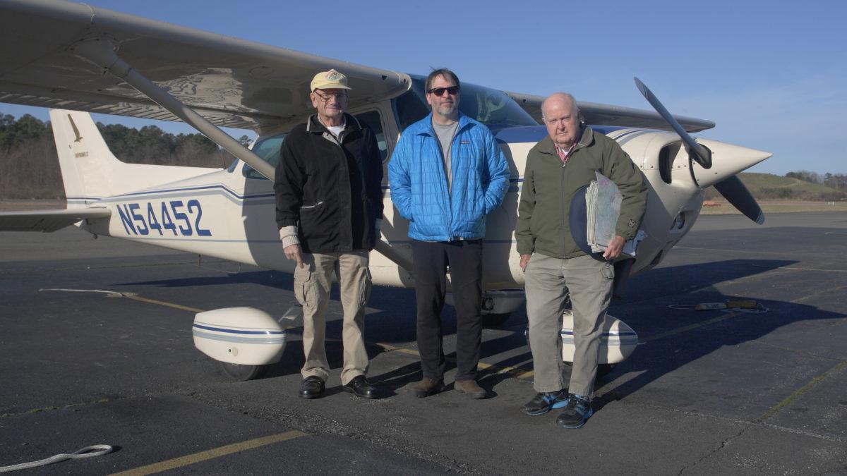 Bald eagle survey crew -AKA The A-Team